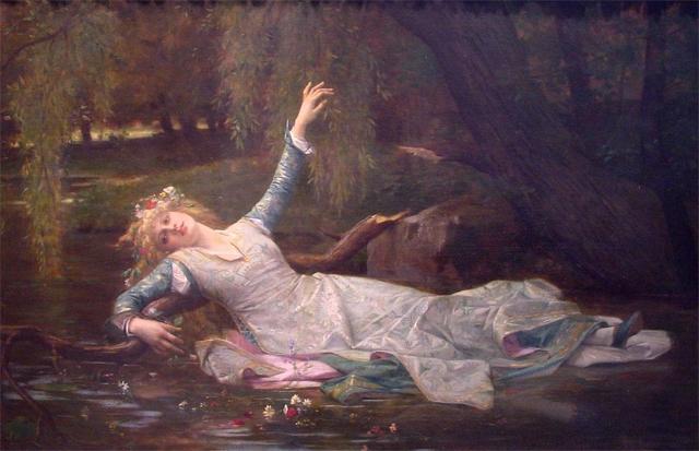 Alexandre Cabanel Ophelia Painting